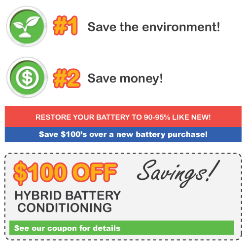 Avoid a new battery and save up to 70%!